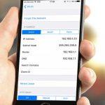 روش پیداکردن ip در گوشی تلفن همراه